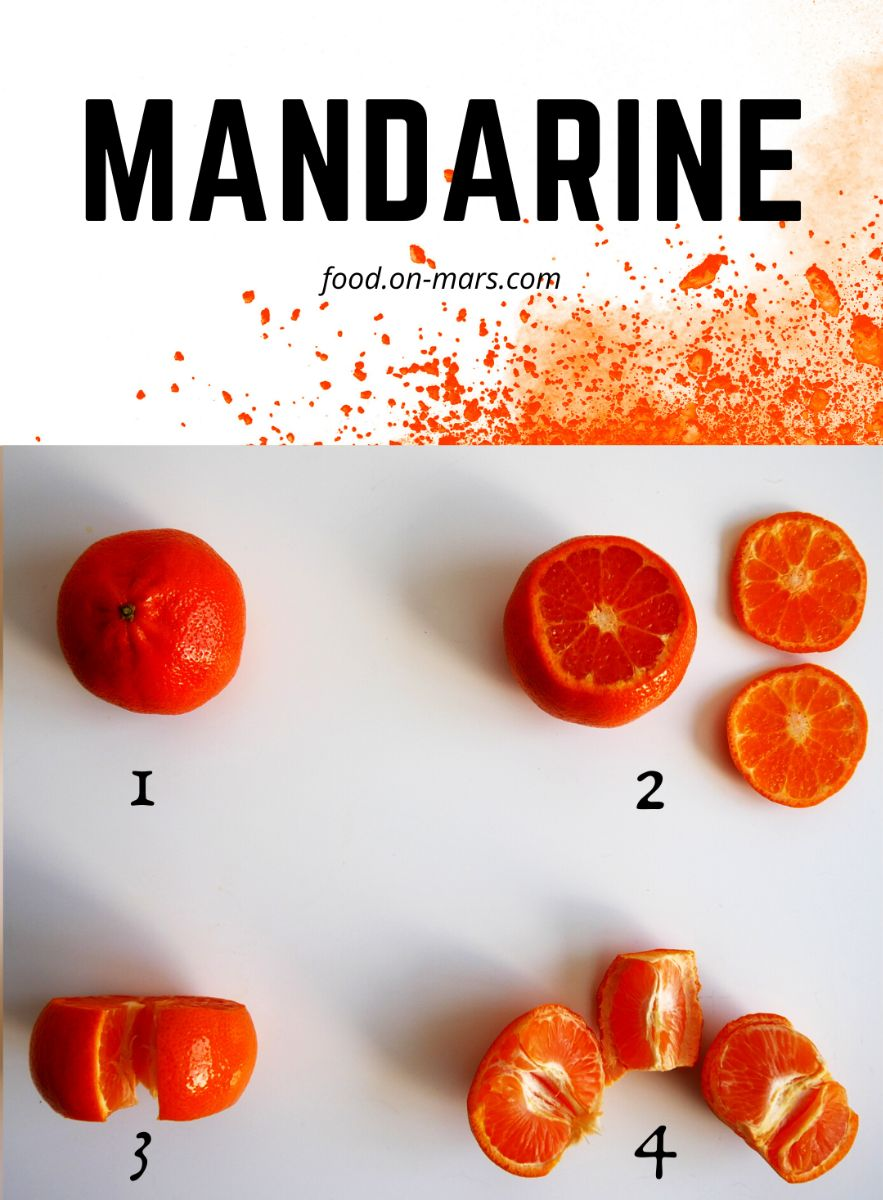 Mandarine fruit hack