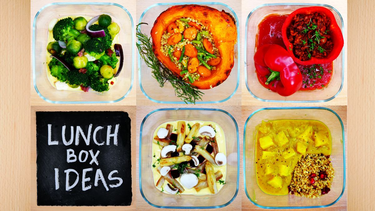 5 healhty lunch recipes