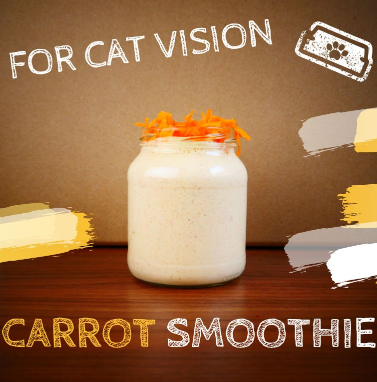Carrot smoothies for better vision